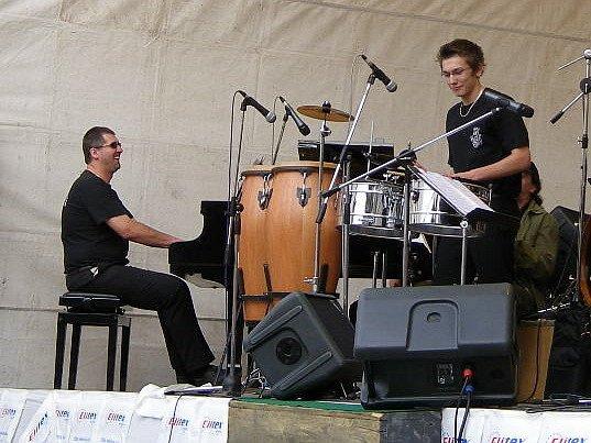 Michal Bečička, bubnující ďáblík