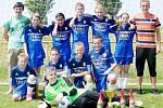 Fotbaloví mladší žáci Slavoje Předměřice nad Labem - vítězové BD Group okresního přeboru.