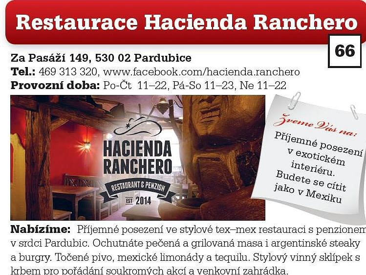 Restaurace Hacienda Ranchero