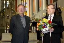 Slavnostní udílení Výročních cen města Hradec Králové v katedrále sv. Ducha.