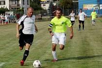 Krajská fotbalová I. A třída: TJ Sokol Třebeš - SK Bystřian Kunčice.