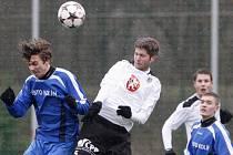 Fotbalová příprava: FC Hradec Králové - FK Kolín.