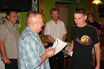 Slavnostní vyhlášení 13. ročníku tradiční soutěže Deníku O nejlepšího fotbalového střelce východních Čech