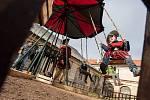 Halloween aneb Piráti na vlnách Cidliny - akce na zámku Karlova Koruna v Chlumci nad Cidlinou.