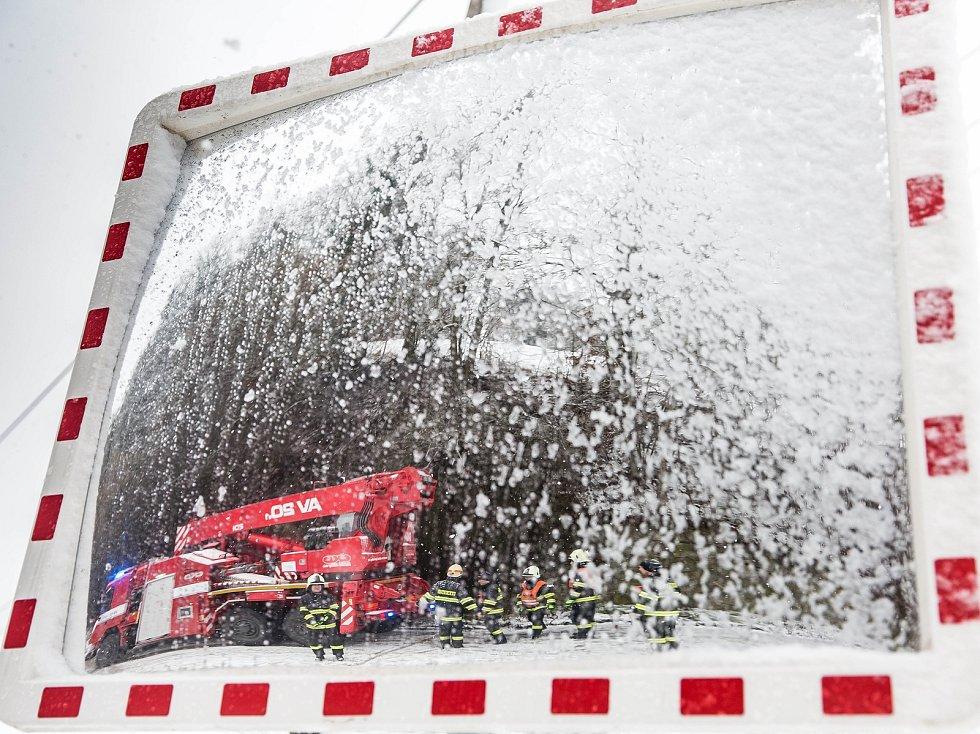 Sněhová kalamita na Královéhradecku