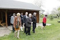 Delegace složená zejména ze členů Stálé komise Senátu pro rozvoj venkova v Sověticích a okolí.