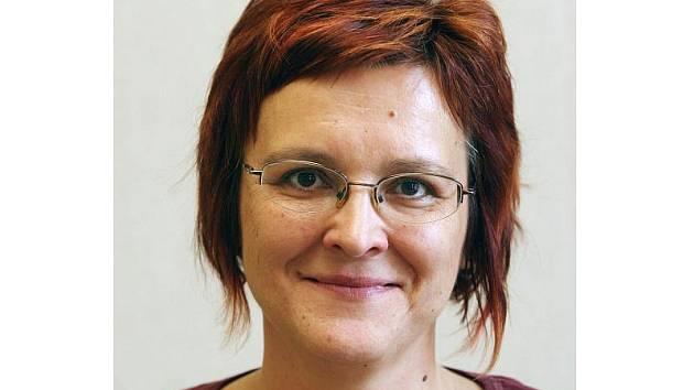 Lenka Antošová–Václavíková, šéfka městské knihovny .