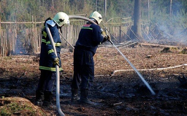 Požár v Třebechovicích pod Orebem