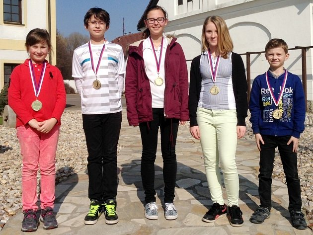 Vítězové MČR mládeže na FSG golfových simulátorech pořádaného Golf Clubem Hradec Králové.