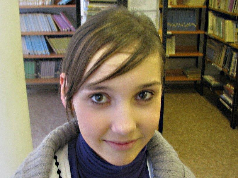 Štěpánka Švédová, 14 let