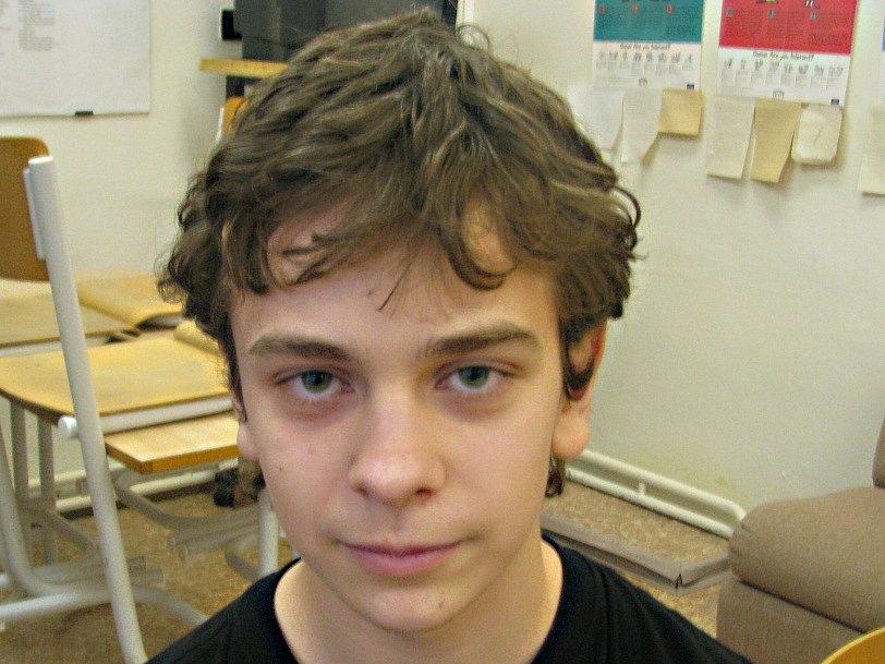 Michal Svoboda, 14 let