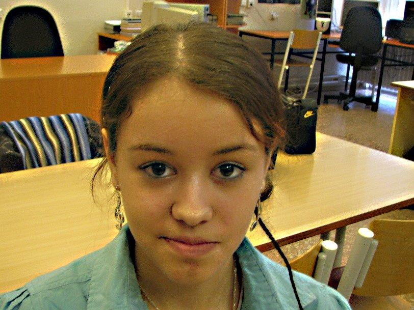 Lucie Růžičková, 14 let