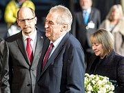 Návštěva prezidenta Miloše Zemana v Královéhradeckém kraji.