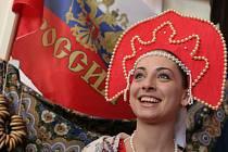 Festival Setkání národů v královéhradeckém Adalbertinu.