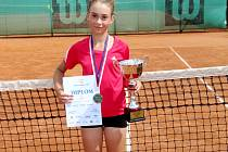 Adéla Josefová, Tenis-centrum DTJ Hradec Králové.