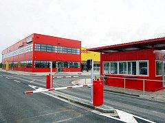 Nové logistické centrum v Březhradu.