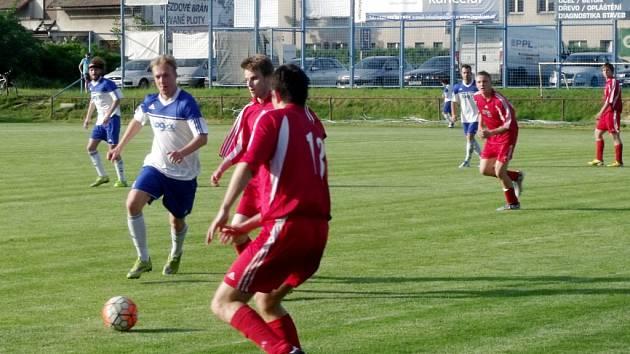 Krajská fotbalová I. B třída, skupina E: TJ Lokomotiva Hradec Králové - TJ Sokol Malšovice.
