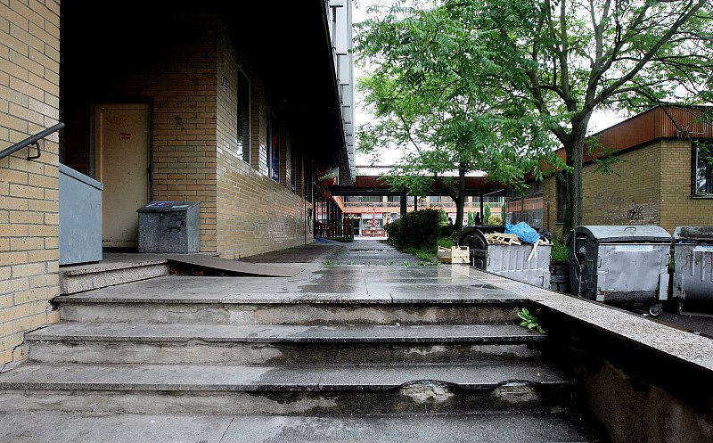 Nákupní středisko Hvězda, Štefáníkova, Moravské Předměstí