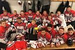 Úspěšní mladí hokejisté.