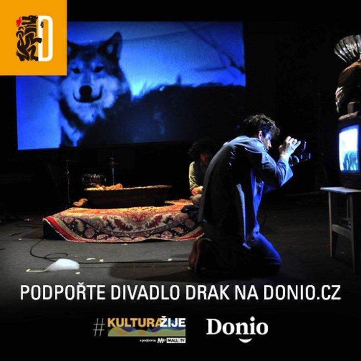 Podpořte Divadlo Drak v projektu #kulturažije PRO DĚTI.