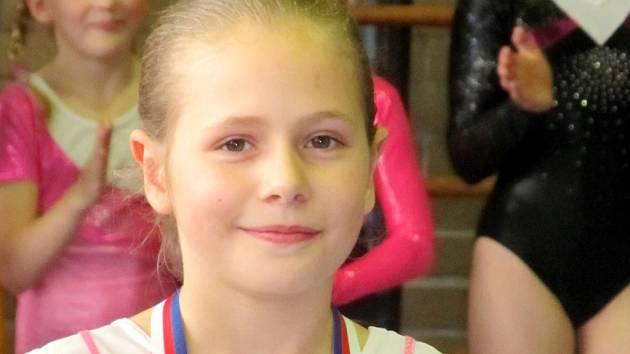 Nejúspěšnější domácí závodnice Klára Molitorová (2006).