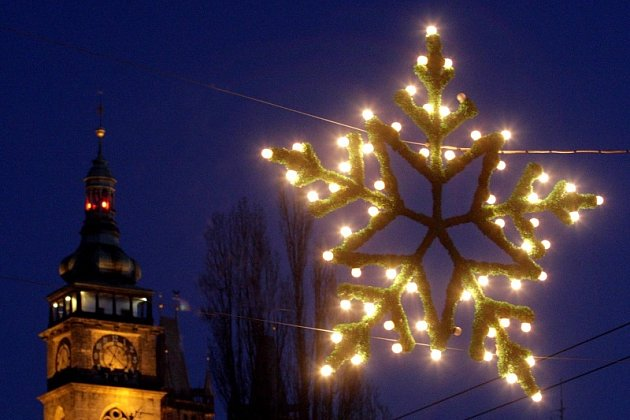 Vánoce v Hradci Králové, ilustrační fotografie