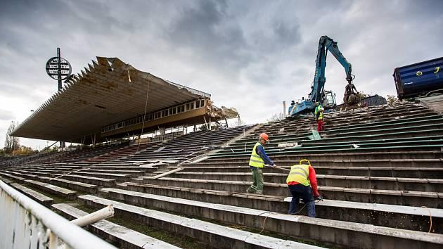 Hradecký fotbalový stadion