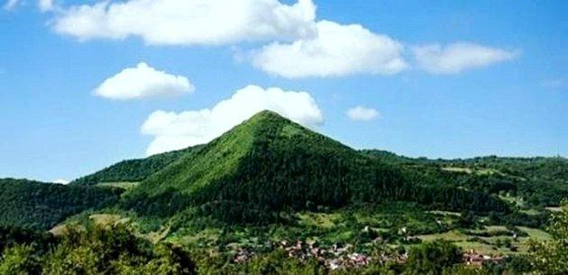 Bosenské údolí pyramid.