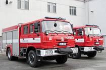 Cisterny CAS 20 pro hasiče z Královéhradecka.