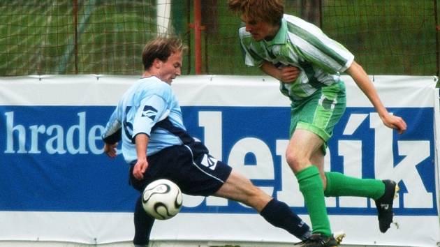Ilustrační snímek z utkání FC Olympia vs. Nový Bydžov