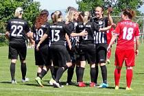 Fotbal žen: Hradec Králové - Brno.