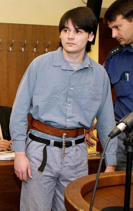 Ján Šereš před královéhradeckým soudem.