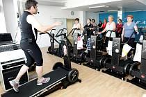 Centrum nových sportů a projekt Proti proudu 60+ pro seniory.