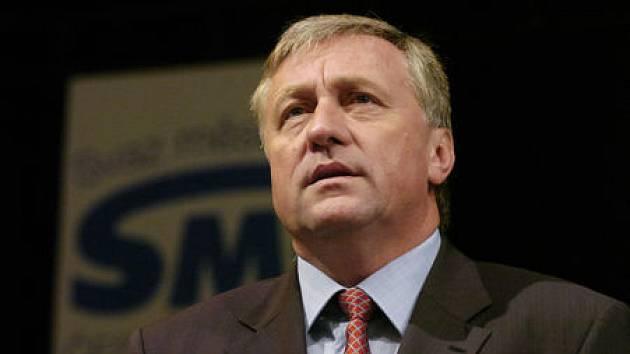 Premier Mirek Topolánek  v Hradci Králové 24. května 2007