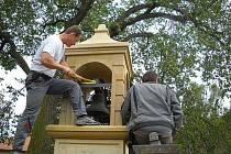 Nová zvonička v Roudnici