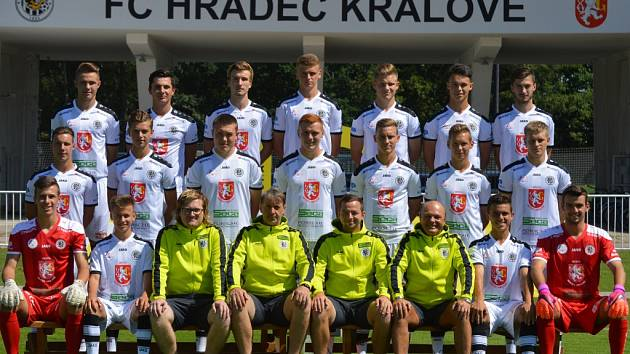 Fotbalisté FC Hradec Králové U19.