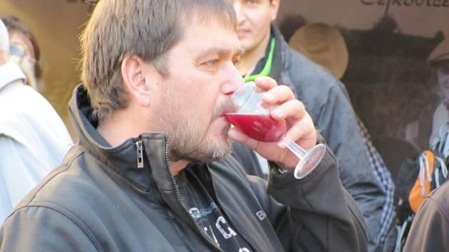 Hradecký koštýř - slavnosti vína v Hradci Králové.