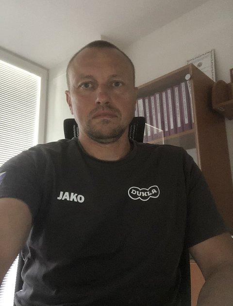 Radek Jančík, šéftrenér Dukly Hradec Králové.