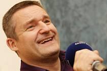 Vladimír Hron hostem ve vysílání Českého rozhlasu Hradec Králové.