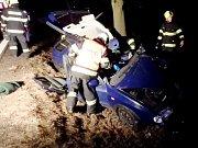 Dopravní nehoda u Rybné nad Zdobnicí.