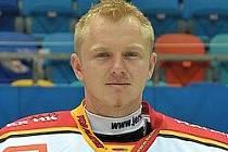 Hradecký hokejista Filip Luňák.