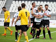 Fotbalová Synot liga: FC Hradec Králové - SK Slavia Praha.