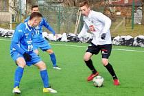 Fotbalová juniorská liga: FC Hradec Králové - FC Baník Ostrava.