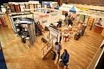 13. ročník prodejní a kontraktační výstavy Stavba a Zahrada v hradeckém Aldisu, březen 2010