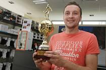 Vyhlášení soutěže Deníku O nejlepšího fotbalového kanonýra východních Čech.