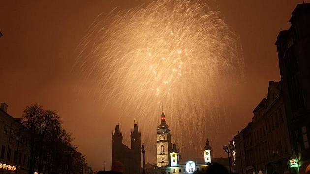 Novoroční oslavy 2010 v Hradci Králové