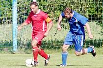 Okresní fotbalová CK Votrok IV. třída B: Syrovátka - Libčany B.