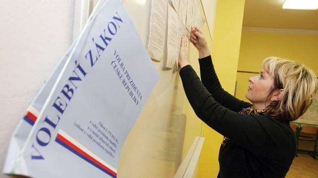 Volby na Hradecku.