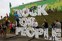 Rock for People v Hradci Králové.