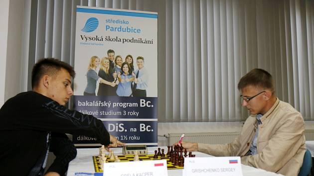 Šachový turnaj Sten.cz Open v královéhradeckém hotelu Černigov.